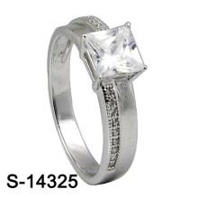 Moda jóias 925 prata esterlina CZ mulheres anel (S-14325)