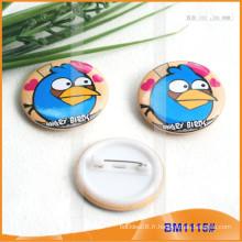 Badges à boutons imprimés ronds personnalisés pour la promotion BM1115