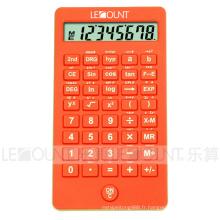 56 fonctions Calculatrice scientifique étudiante à 10 chiffres avec des couleurs attrayantes (CA7015)