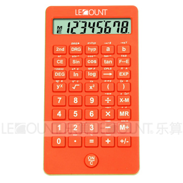 56 Funktionen 10 Ziffern Student Scientific Calculator mit attraktiven Farben (CA7015)