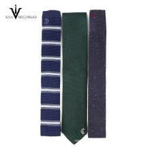 Neuheit Artikel 2017 Perfect Neck Knot Luxus Herren Wolle Anzug Dünne Krawatten