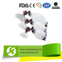 Resuscitadores manuais de silicone de venda a quente (SKB-5C001)