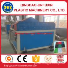 Línea de producción de alfombras de suelo de plástico