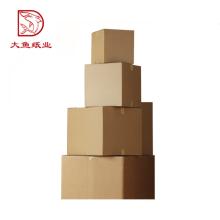 Customized size rectangle folding corrugated paper box wholesale