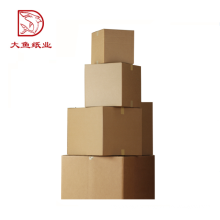 Personalizado tamanho retângulo dobrável caixa de papelão ondulado atacado
