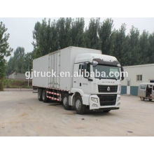 4 * 2 unidad de Sinotruk HOWO van camión / camioneta camión / van camión de carga / camioneta transporte / camión de transporte de mercancías para 3-22 metros cúbicos