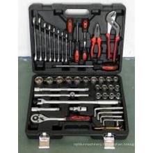 HRC48 Chrome Plated 45PCS Socket Wrench Set Tool Set