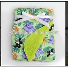 Mercado venta caliente niños de bebé niños Sherpa mantas