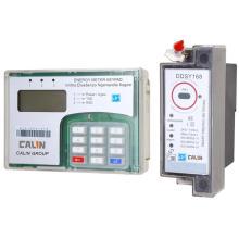 DIN Rail Mounting Keypad Split Prepaid/Prepayment Energy Meter