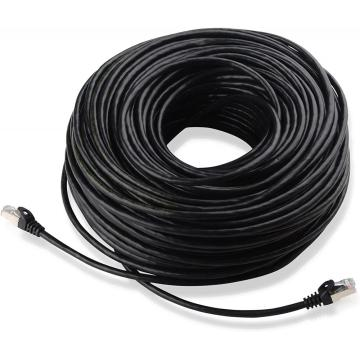 Cable Ethernet blindado Cat6 RJ45 SFTP de 100 pies