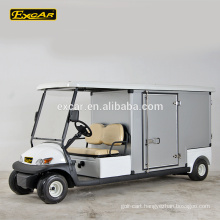 EXCAR 2 seater electric golf cart housekeeping car cheap golf cart for sale