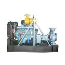 Bomba de agua centrífuga accionada por el motor diesel de 4 cilindros
