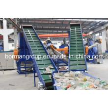 Ligne de lavage de rebut de bouteille d'animal familier 500-6000kg / H