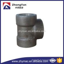 A105 Carbono forjado aço Socket Weld Tee