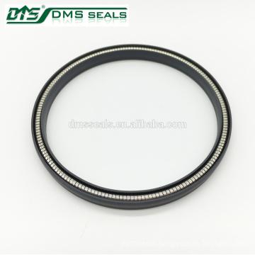 Spring energized PTFE rotary shaft seal/V type teflon seal