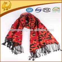 Silk Viscose Blended Thick Winter Fashion Pashmina Cachecol árabe