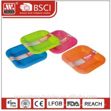 Bunte Kunststoff-Platte