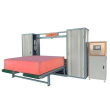 double function of horizontal vertical foam sponge block cutting machinery