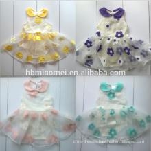 wholesale colorful infant bodysuit floral baby jumpsuit onesie baby girl 100% cotton baby tutu romper
