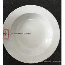 Plato de sopa plana de 12 '