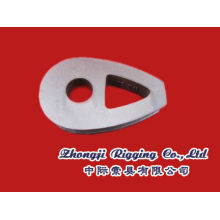 DIN3091 Ductile Iron Malleable Wire Rope Heavy duty Thimble