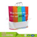 100% Биоразлагаемые Сверхмощный Изготовленный На Заказ Печать Recyclable Большую Пластиковую Сумку С Мягкими Петлевыми Ручками