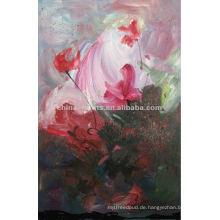 Berühmte Künstler Abstraktes Blumen-Zuhause-Dekor-Ölgemälde