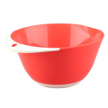 Bol à mélanger orange rouge