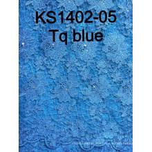 2015 New Design for Nigerian Cord Lace Ks1402
