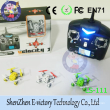E-victory Mini Nano 6-Axis Gyro 4 Channel RC Quadcopter with CE FCC