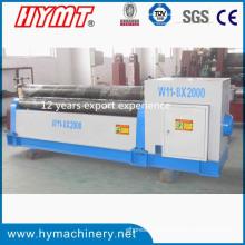 W11-8X2000 3-Rollen-Aluminium-Plattenbiegemaschine
