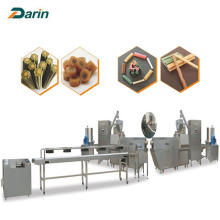 Otomatis Single Screw Dog Food Extruder Multi-bentuk