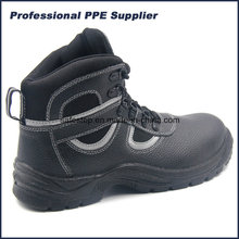 Split Leather Industrial Safety Shoes with Steel Toe