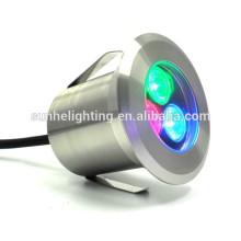 12v ac dc 9 watt recessed led underwater pool lights ip68 light rgb color change led underwater pool lights