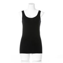 OEM Private Label Damen ärmellose Unterwäsche aus Bio-Baumwolle