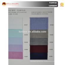 men's 100% cotton various color bird's eye shirt fabric