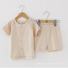 Summer Short Sleeves Underwear Set