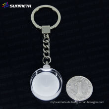 Sunmeta Sublimation Kristall keychain Schlüsselringe Großhandel --- Hersteller