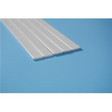 FRP barra plana branca para cortinas romanas