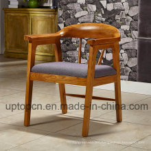 Classical Design Solid Wooden Restaurant Furniture Chair with Fabric Upholstery (SP-EC874)
