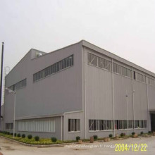 Construction en acier de construction pour atelier et entrepôt