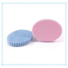 Hello Kitty PVA esponja de lavagem facial suave para banho de chuveiro