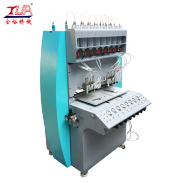 Full Automatic 8 Needles Plastic Dispensing Equipment