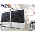 322 Ton High Efficiency and Long Service Life Steel Structure Open Cooling Tower