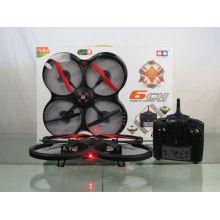 2014 Produto novo 2.4G 4CH 6-Eixo com luz LED RC Quadcopter helicóptero 836
