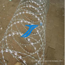 High Quality Plastic Spraying Razor Wire for Sale