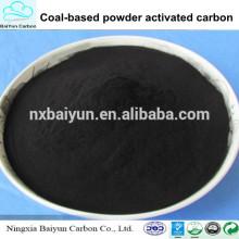precio de polvo de carbón activado en polvo de purificación de agua