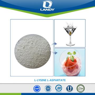 FOOD GRADE BEST PRICE L-LYSINE L-ASPARTATE