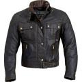 Custom Mens wax coated motorcycle apparel jacket