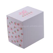 Usine meilleure boîte de cadeau de papier de vente avec la fenêtre claire de PVC 13.5x13.5x10.2cm